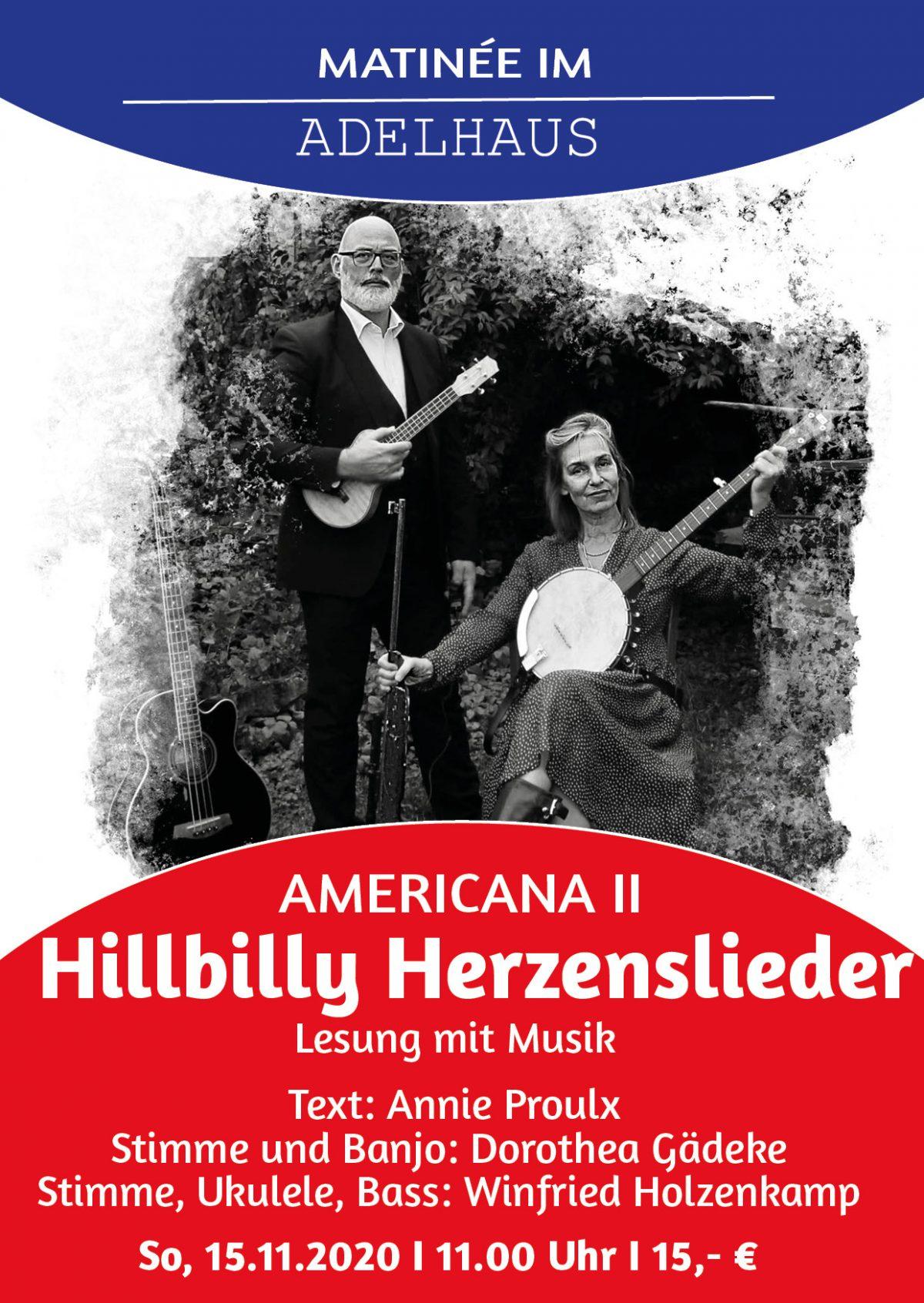 Americana II  Hillbilly Herzenslieder
