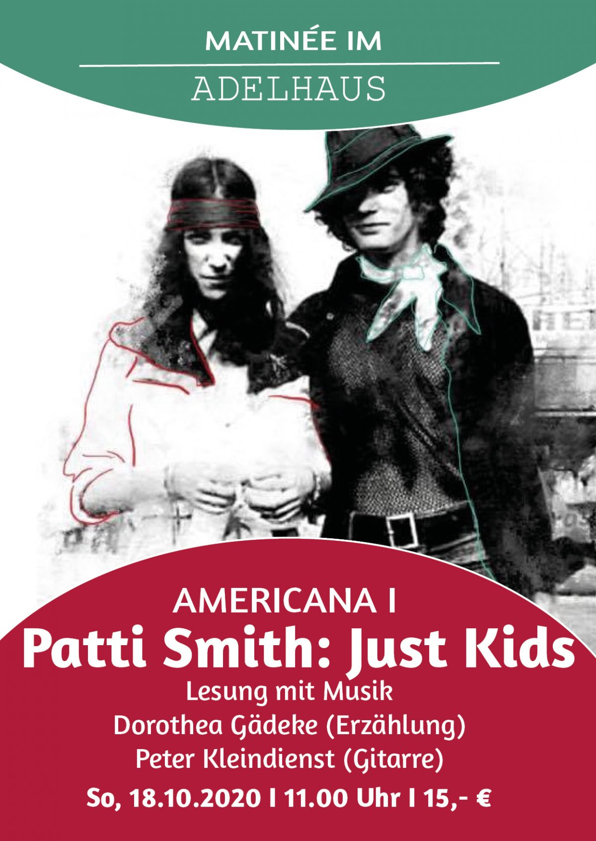 "AMERICANA I  ""Just Kids"" von Patti Smith So, 18.10.2020 I 11.00 Uhr"